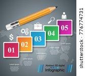 pencil  education icon.... | Shutterstock .eps vector #776774731