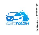 car wash logo designs | Shutterstock .eps vector #776778217