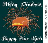 merry christmas and happy new... | Shutterstock .eps vector #776786641