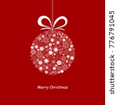 merry christmas card with with... | Shutterstock .eps vector #776791045