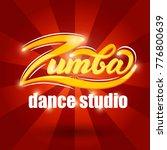 zumba dance studio banner... | Shutterstock .eps vector #776800639