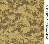 digital camouflage pattern ... | Shutterstock .eps vector #776806879