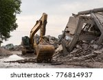 Collapsed Industrial Building...