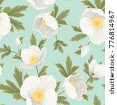 hellebore anemone christmas... | Shutterstock .eps vector #776814967