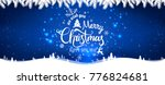 merry christmas and new year... | Shutterstock .eps vector #776824681