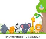 illustration of different... | Shutterstock .eps vector #77683024