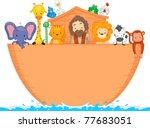 Illustration Of Animals Aboard...