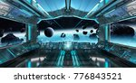 Spaceship Interior With View O...