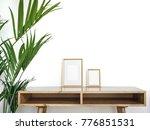 modern home decor mock up.... | Shutterstock . vector #776851531