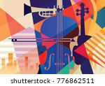 abstract musical background.... | Shutterstock .eps vector #776862511