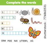 educational children game.... | Shutterstock .eps vector #776863531