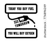 gasoline pump nozzle with... | Shutterstock .eps vector #776896249
