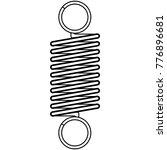coil spring steel spring  metal ... | Shutterstock .eps vector #776896681