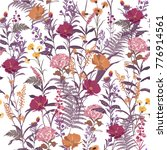 trendy  floral pattern in the... | Shutterstock .eps vector #776914561