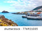 garachico   small old town on... | Shutterstock . vector #776921035