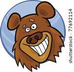 cartoon illustration of funny... | Shutterstock .eps vector #77692114