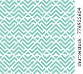 vector turquoise pattern | Shutterstock .eps vector #776922604