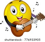 illustration of a smiley mascot ... | Shutterstock .eps vector #776933905