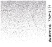 silver glitter frame or border  ... | Shutterstock .eps vector #776948479