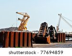 harbor industry - stock photo