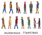 people collection of icons  men ... | Shutterstock .eps vector #776957845