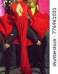 one sexual attractive diva...   Shutterstock . vector #776961031