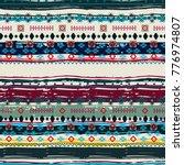 ethnic. boho seamless pattern....   Shutterstock . vector #776974807