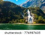 bowen falls waterfall in the... | Shutterstock . vector #776987635