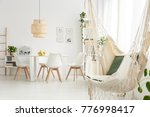 hammock with pillows and...   Shutterstock . vector #776998417