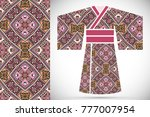 fashion art collection ... | Shutterstock .eps vector #777007954