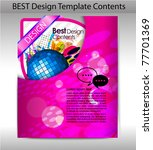 colorful design template... | Shutterstock .eps vector #77701369