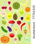 collection of funny vegetables...