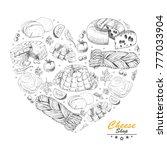 vector heart from different...   Shutterstock .eps vector #777033904