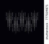 rhinestone applique print for... | Shutterstock .eps vector #777039871