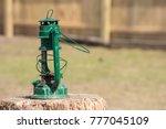 Green Rustic Broken Lantern...