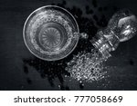 close up of tea of black pepper ... | Shutterstock . vector #777058669