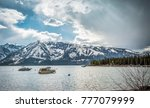 jackson lake in the grand... | Shutterstock . vector #777079999
