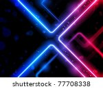 Vector - Rainbow  Lines Background Neon Laser - stock vector