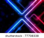 vector   rainbow  lines... | Shutterstock .eps vector #77708338