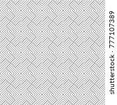 modern seamless vector pattern. ... | Shutterstock .eps vector #777107389