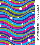 colorful vector endless pattern ... | Shutterstock .eps vector #777122335
