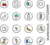 line vector icon set  ...   Shutterstock .eps vector #777135499