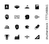 personal development icons.... | Shutterstock . vector #777148861