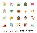 hobby icon set   Shutterstock .eps vector #777152275