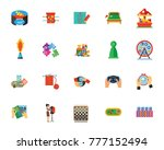 games and hobbies icon set | Shutterstock .eps vector #777152494