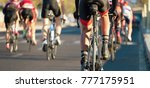 cycling competition cyclist... | Shutterstock . vector #777175951