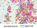 colorful bright horizontal... | Shutterstock . vector #777184759
