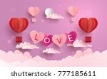 illustration symbol of love... | Shutterstock .eps vector #777185611