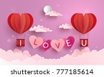 illustration symbol of love... | Shutterstock .eps vector #777185614