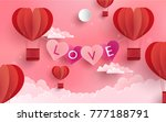 illustration symbol of love... | Shutterstock .eps vector #777188791